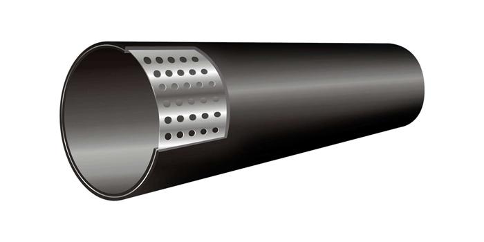 云南pe孔网钢带管批发,云南孔网钢塑管价格