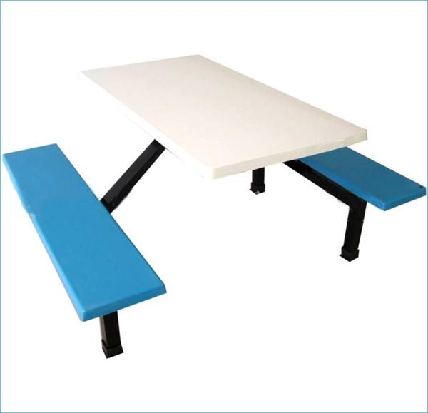 南宁四人座玻璃钢餐桌