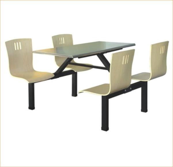 南宁四人座玻璃钢餐桌椅