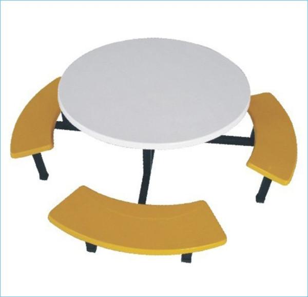 南宁玻璃钢分体餐桌