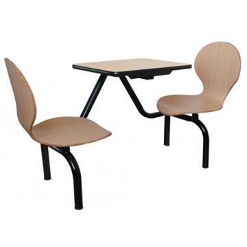 南宁连体餐桌椅