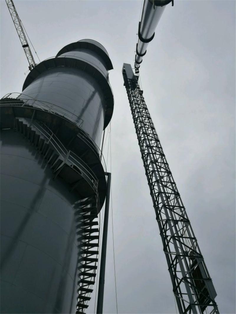 来宾柳钢大型高炉装卸