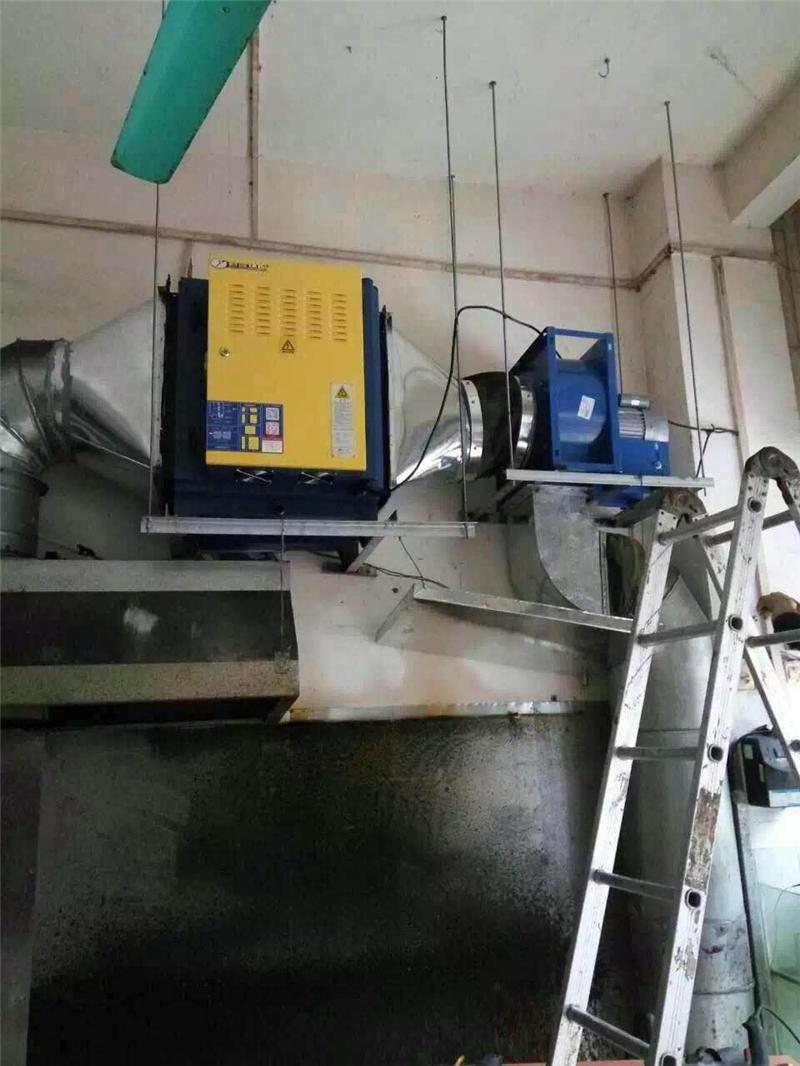 崇左脫硫除塵設備產品安裝
