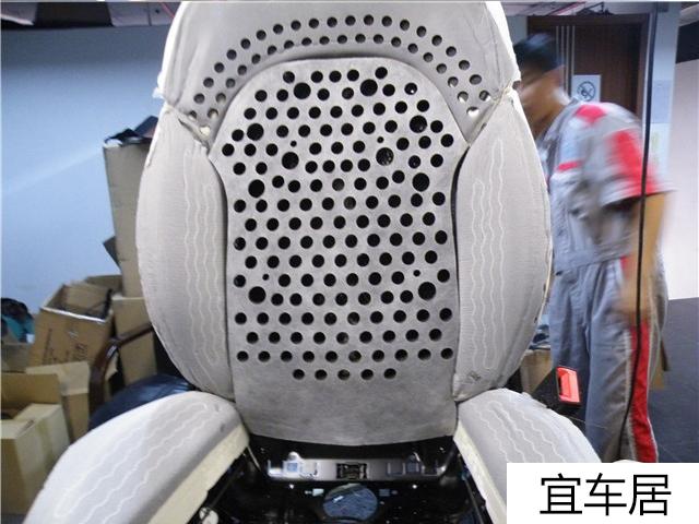 奥迪S8座椅通风改装