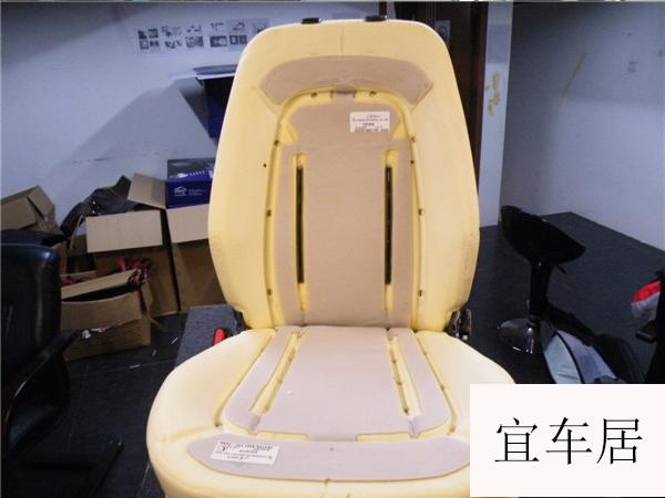 起亚K5通风座椅改装