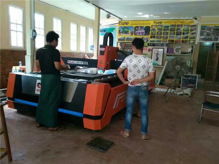 全利光纤切割机落户缅甸GME公司