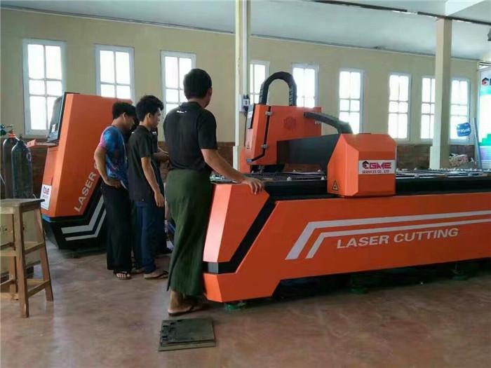 缅甸GME公司订购鑫全利激光切割机