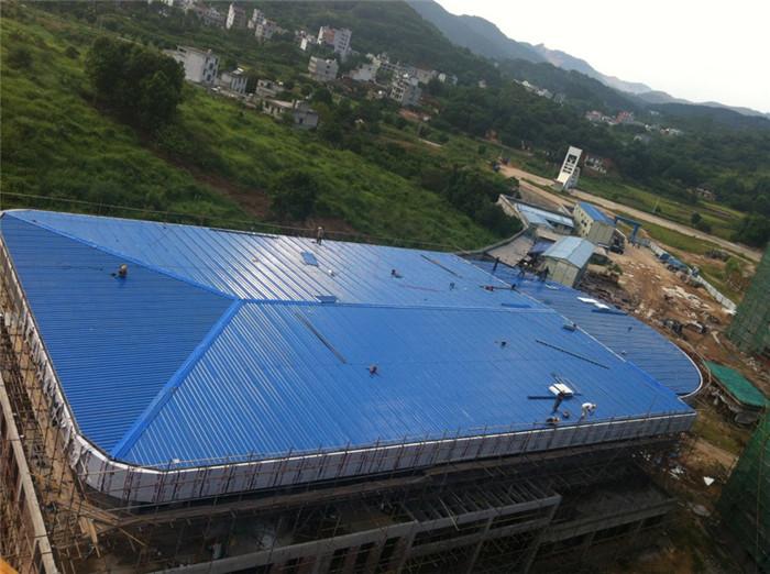 我公司2011年承接的岑溪党校会议中心系统工程,建筑面积4200m2和网架安装.jpg