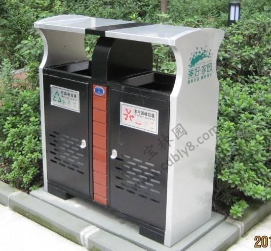 公共垃圾箱
