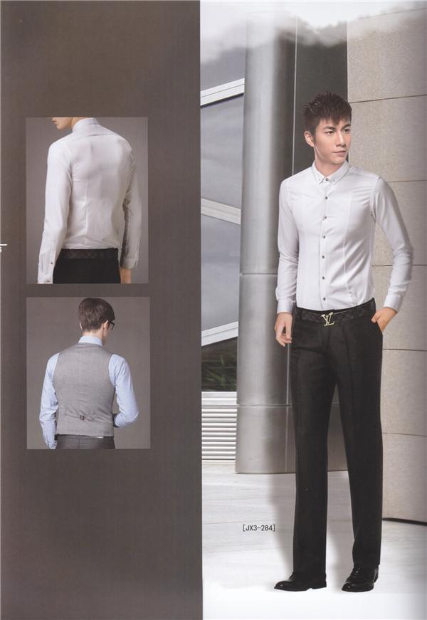 男士衬衫定制案例展示