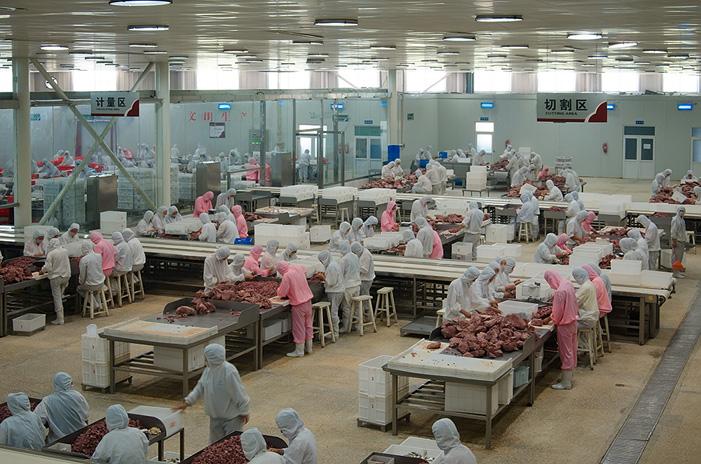 广西牛肉加工切割程序