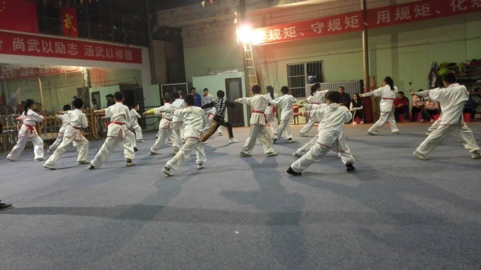 武术培训班环境
