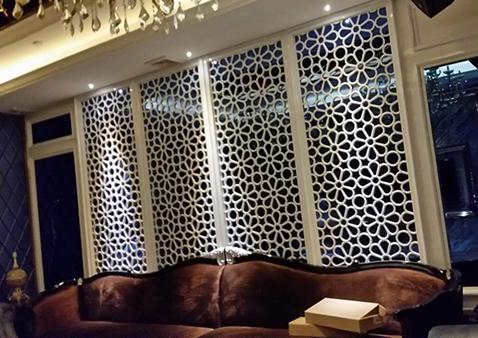 桂林实木花格窗户