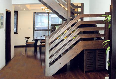 桂林实木楼梯保养技巧