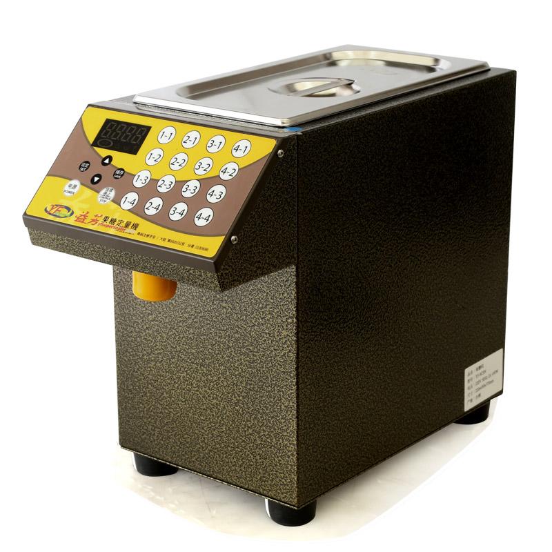 百色益芳16键果糖定量机