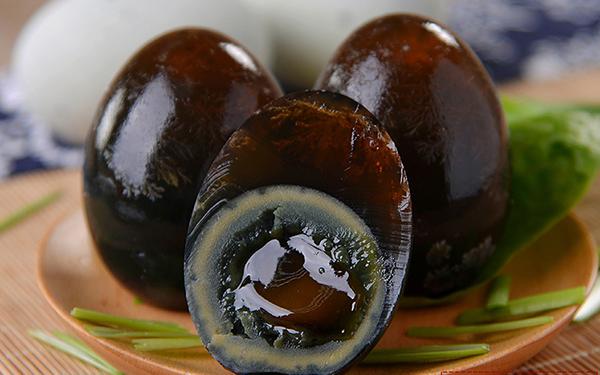 辽宁红树林海鸭皮蛋