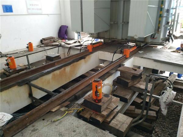 广西中石油变压器装卸吊装过程