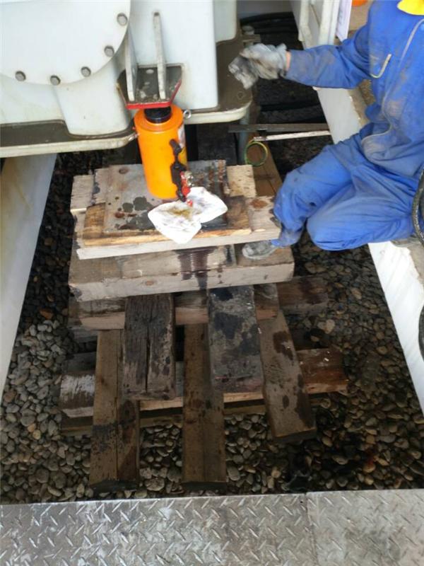 广西中石油变压器装卸吊装准备