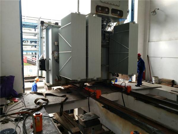 广西中石油变压器装卸吊装
