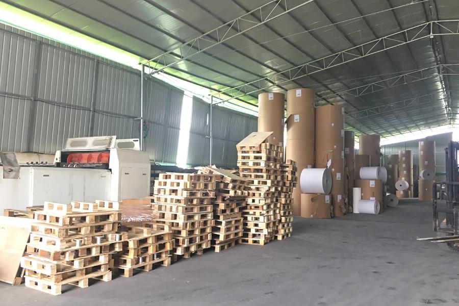 河池白板纸厂家环境