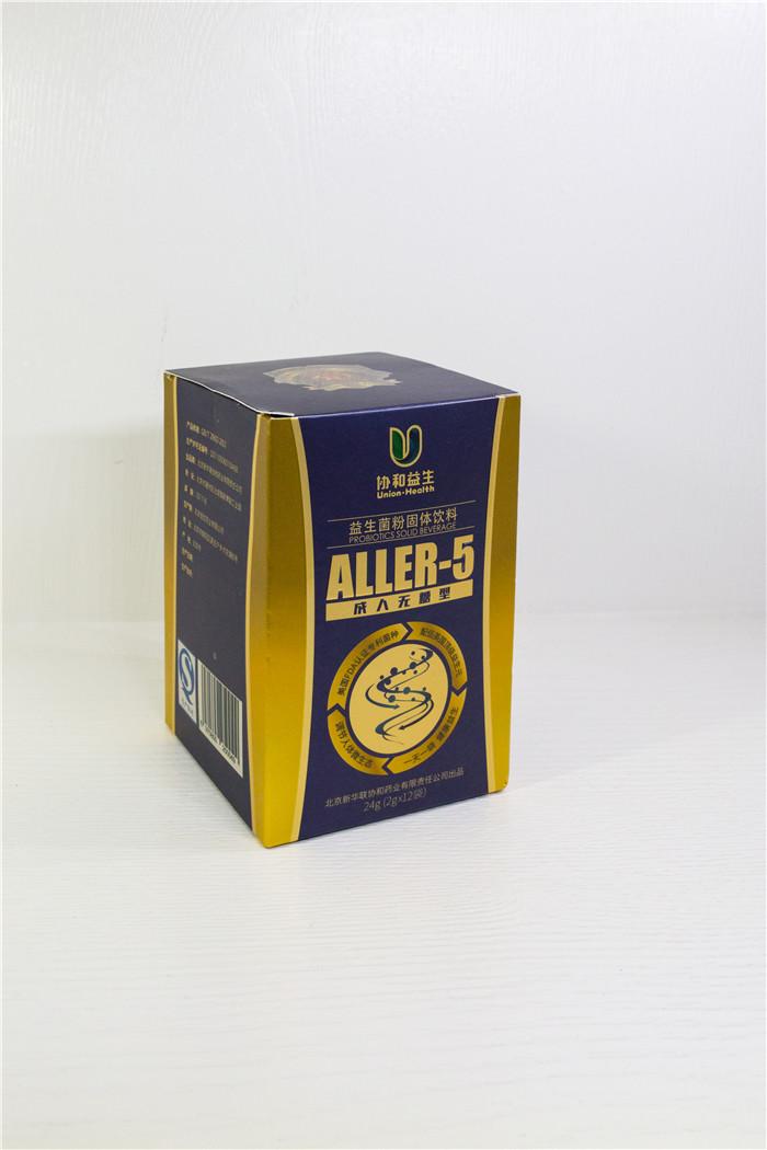 ALLER-5益生菌侧面照