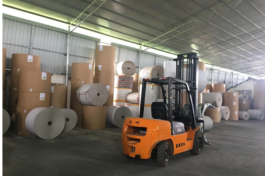 北海白板纸生产厂家环境