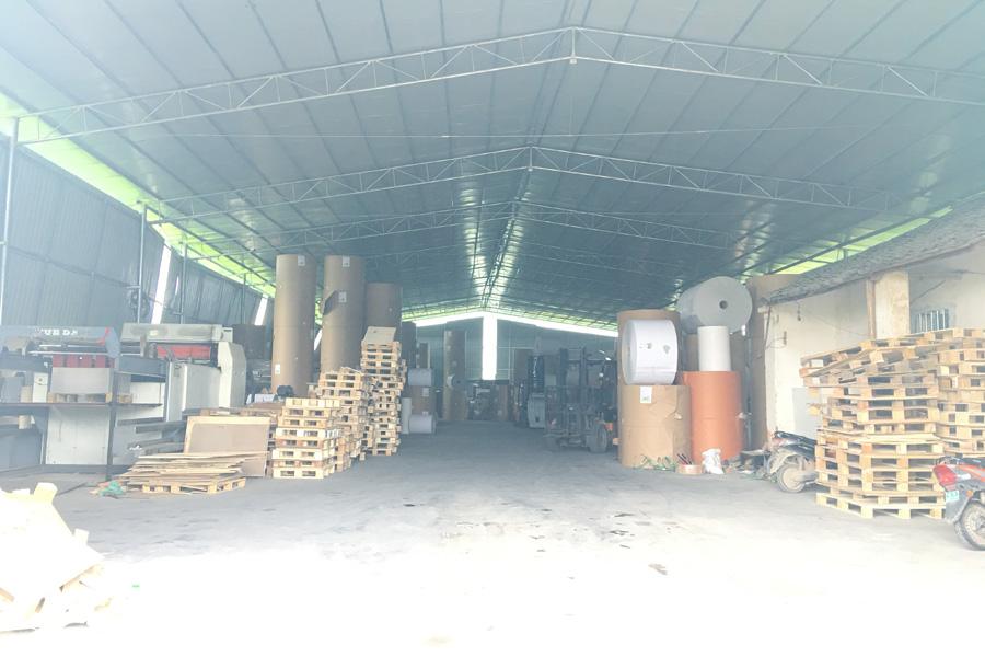 河池白板纸批发工厂环境