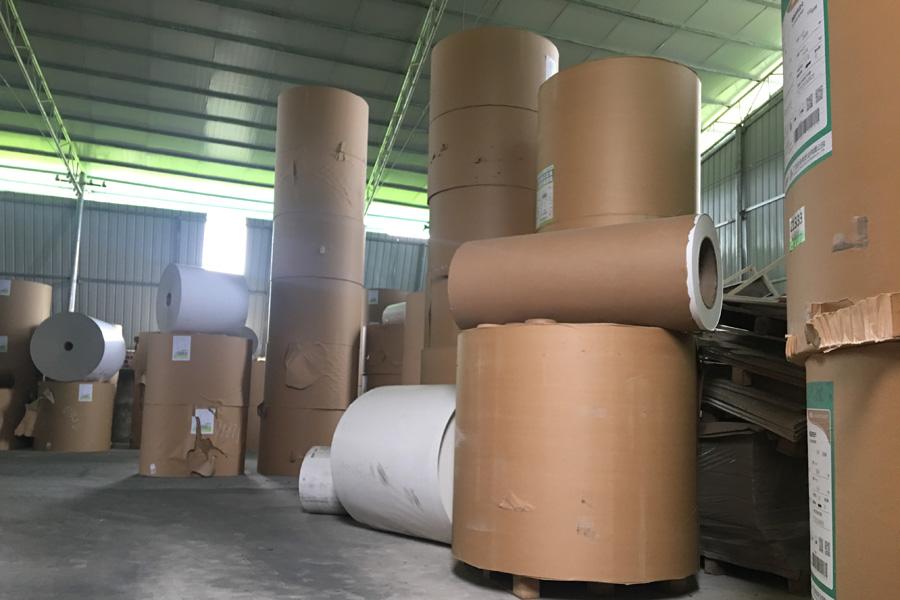 北海白板纸代理工厂环境