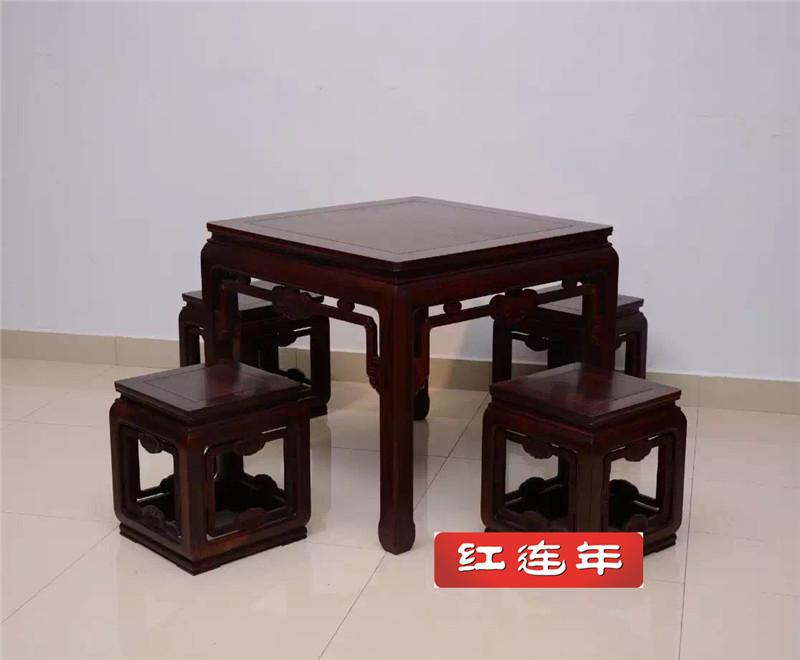 印尼黑酸枝四方桌