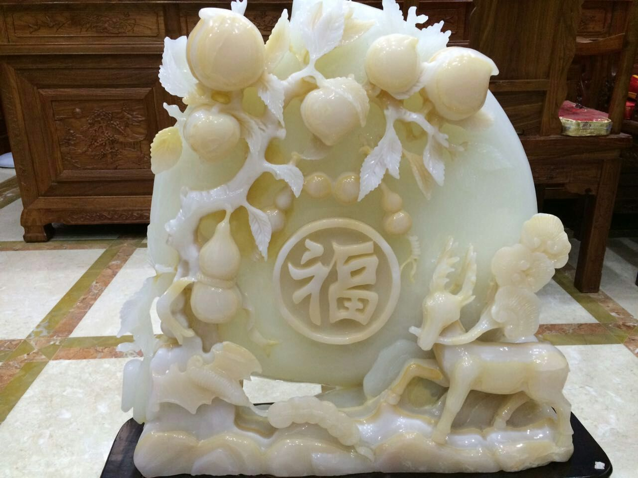玉林石材雕刻摆件