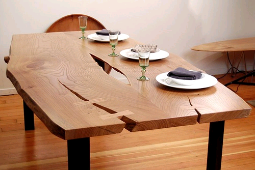 桂林实木茶桌