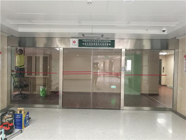 河池广西中医院门禁自动门