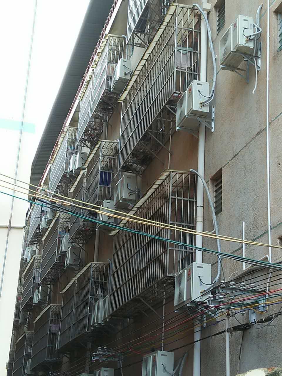 梧州蒲庙二中空调安装工程案例