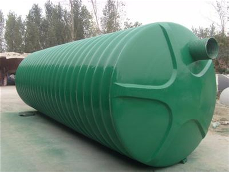 玻璃钢化粪池6立方米