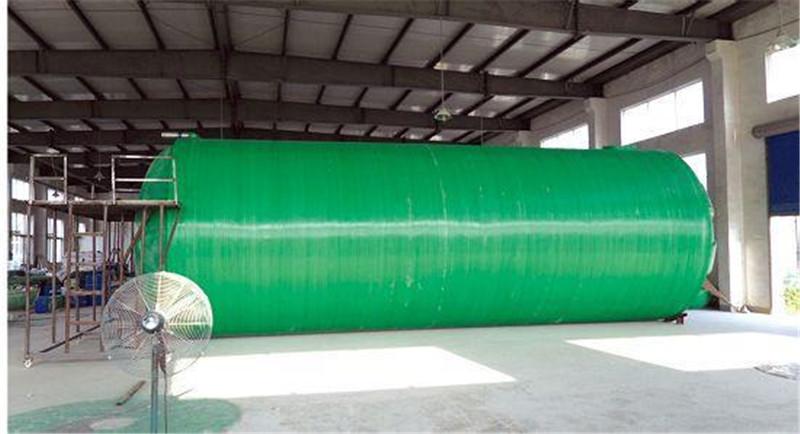 玻璃钢化粪池60立方米