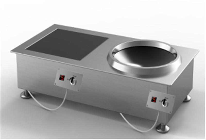 嵌入式电磁组合炉
