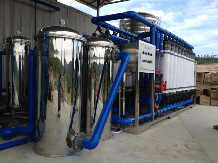 50T超滤农村饮水设备