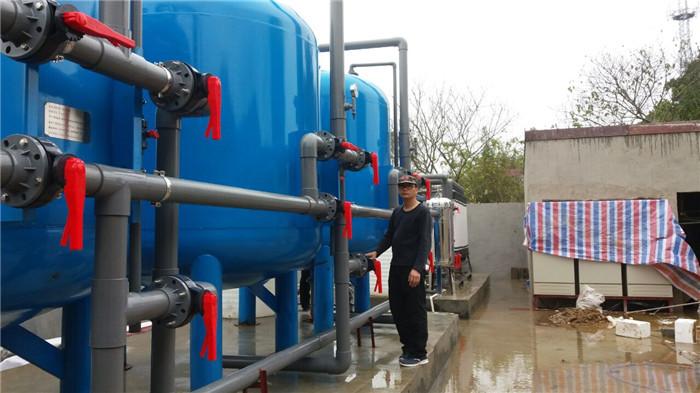 100T农村饮水工程