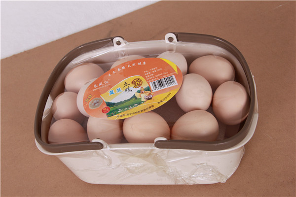 良凤江蓝装土鸡蛋