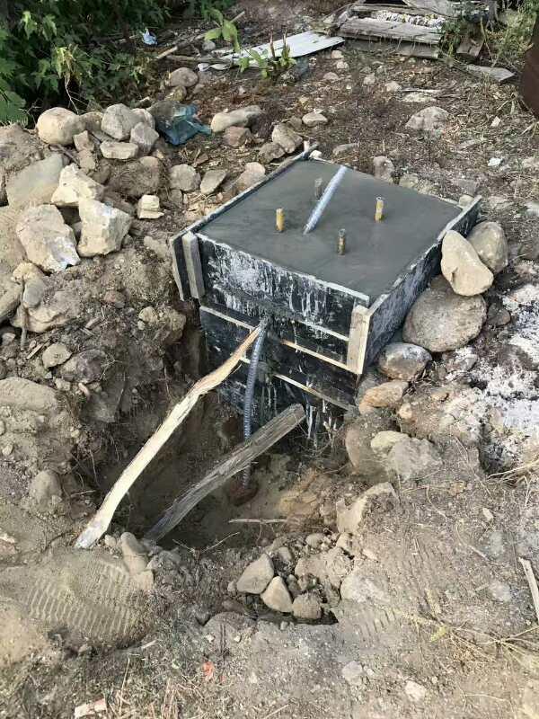 西藏路灯施工工程案例