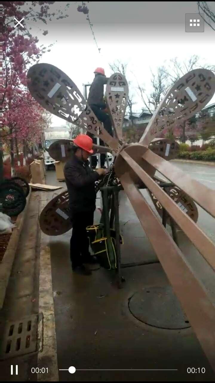 西藏高杆灯工程案例