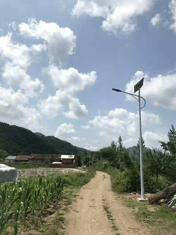 西藏LED路灯工程案例