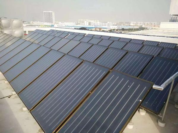 賀州太陽能+空氣能熱水器
