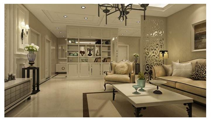 两房一厅装饰装修效果图及价格