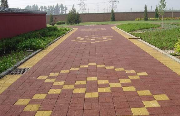 广西透水砖展示