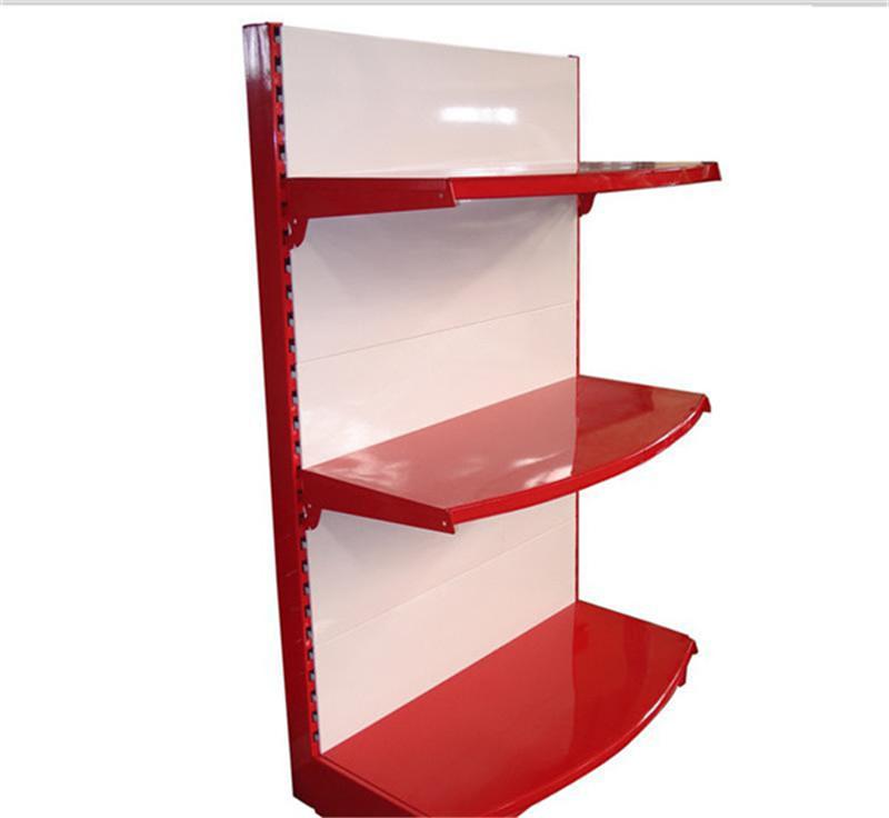 紅色背板貨架