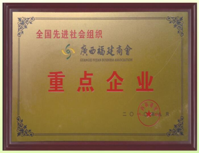 广西福建商会重点企业