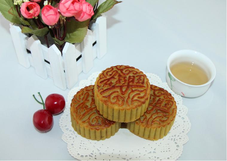 百色月饼展示