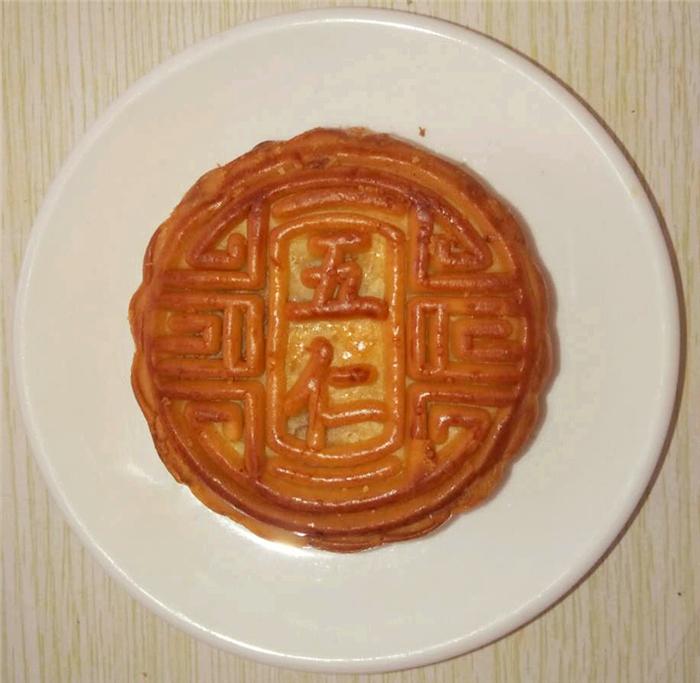 百色伍仁月饼