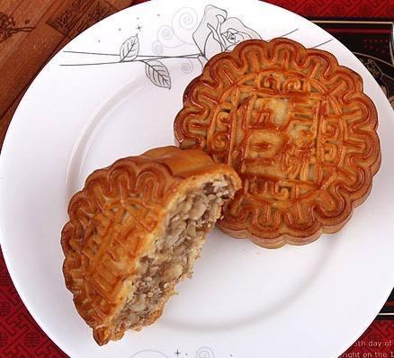 百色伍仁陷-月饼